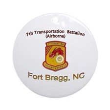 7th Transportation Bn Ornament (Round)