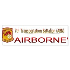 7th Transportation Bn Bumper Sticker