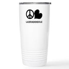 Peace Love Labradoodle Travel Mug