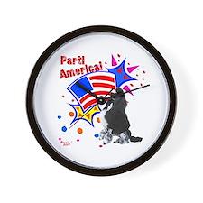 Parti America #1 Wall Clock