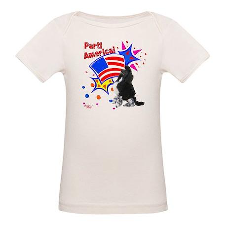 Parti America #1 Organic Baby T-Shirt