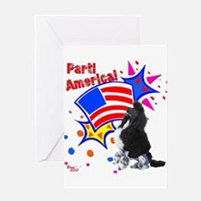 Parti America #1 Greeting Card