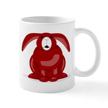 Red Bunny Mug