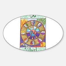 Cute Wheel of fortune Decal