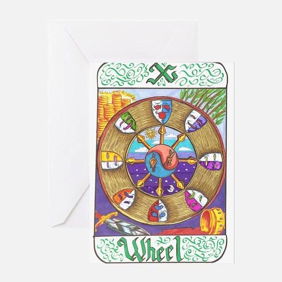 Unique Tarot Greeting Card