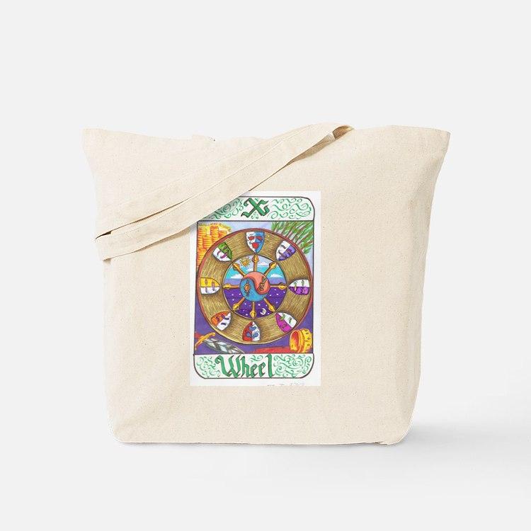 Cute Wheel of fortune Tote Bag