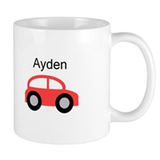 Ayden - Red Car Mug