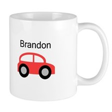 Brandon - Red Car Mug