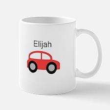 Elijah - Red Car Mug