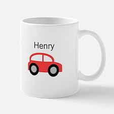 Henry - Red Car Mug
