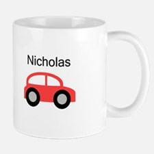 Nicholas - Red Car Mug