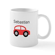 Sebastian - Red Car Mug
