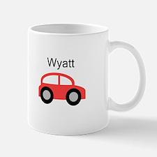 Wyatt - Red Car Mug