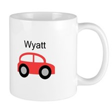 Wyatt - Red Car Mug
