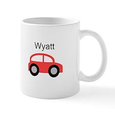 Wyatt - Red Car Small Mug
