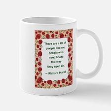 I Need Books Mug