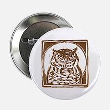 """Owl - 2.25"""" Button"""