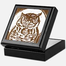 Owl - Keepsake Box