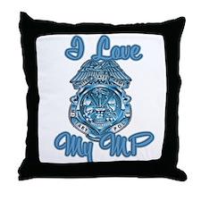 I love my MP Throw Pillow