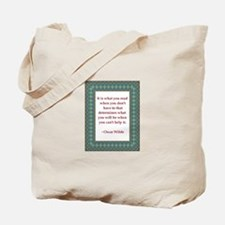 What You Read Tote Bag