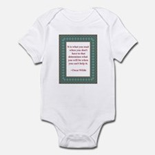 What You Read Infant Bodysuit