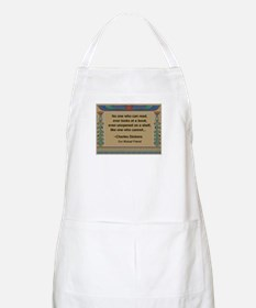 Looking At Books Apron
