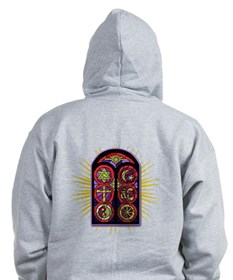 LOST Stained Glass Zip Hoodie