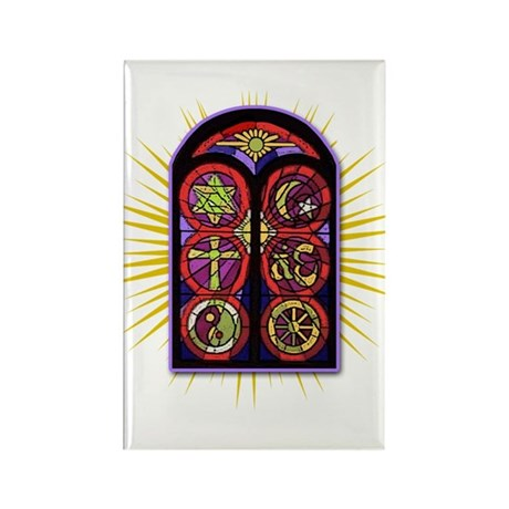 LOST Stained Glass Rectangle Magnet (10 pack)
