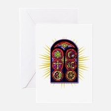 LOST Stained Glass Greeting Cards (Pk of 10)