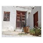 Symi courtyard