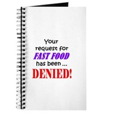 YOUR REQUEST FOR FAST FOOD DE Journal
