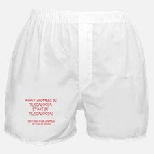 What happens in Tuscaloosa... Boxer Shorts