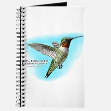 Ruby-Throated Hummingbird Journal