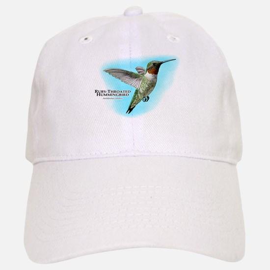 Ruby-Throated Hummingbird Baseball Baseball Cap