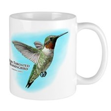 Ruby-Throated Hummingbird Mug