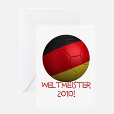 Weltmeister 2010! Greeting Card