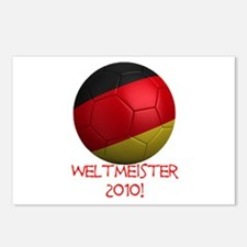 Weltmeister 2010! Postcards (Package of 8)