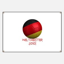Weltmeister 2010! Banner