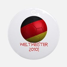 Weltmeister 2010! Ornament (Round)