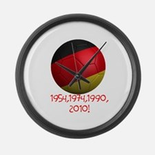 Germany Wins! Large Wall Clock