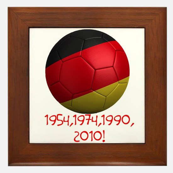 Germany Wins! Framed Tile