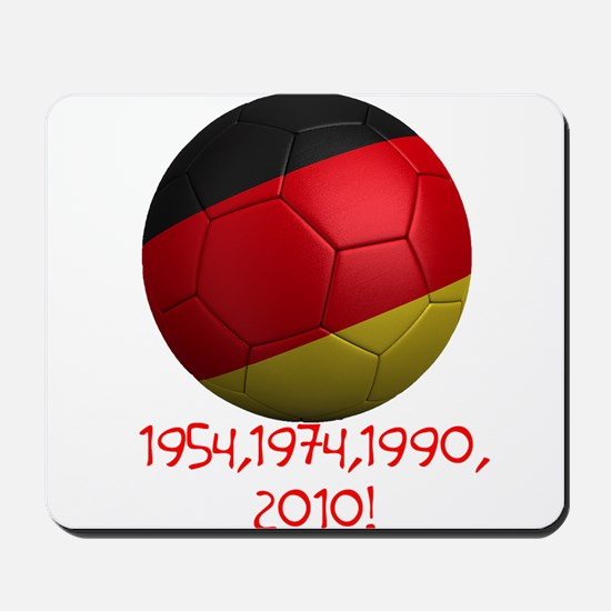 Germany Wins! Mousepad