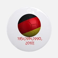 Germany Wins! Ornament (Round)