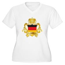 Gold Deutschland T-Shirt
