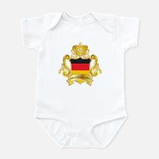 Gold Deutschland Infant Bodysuit