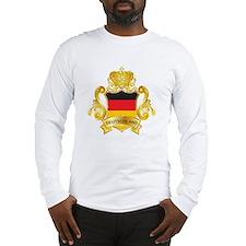 Gold Deutschland Long Sleeve T-Shirt