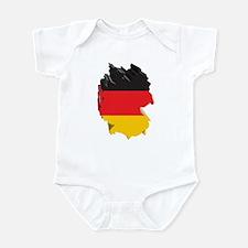 3D Map Of Germany Infant Bodysuit