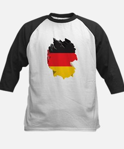 3D Map Of Germany Tee
