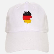 3D Map Of Germany Baseball Baseball Cap