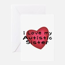 I Love...Sister Greeting Card